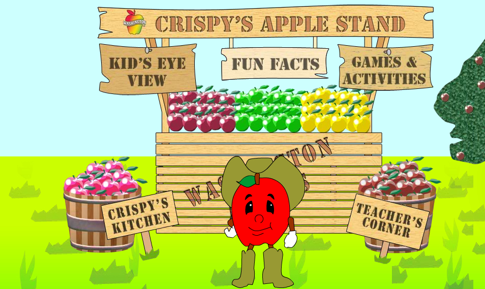 home page just for kids washington apple commission - Home Pages For Kids